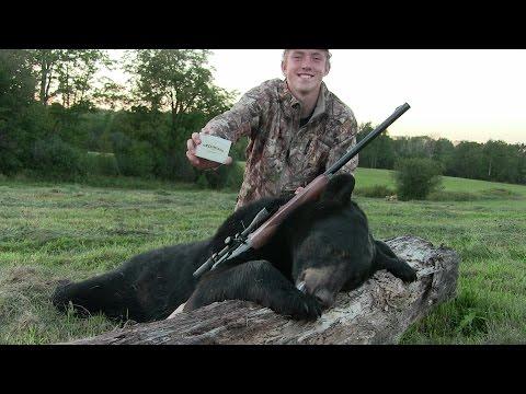 Bear Hunting Wisconsin 2016 - BIG BEAR DOWN!