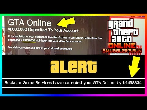 FREE MONEY FOR GTA ONLINE SMUGGLER'S RUN DLC!! - NEW CONTENT CONFIRMED & ROCKSTAR REMOVING DOLLARS!!