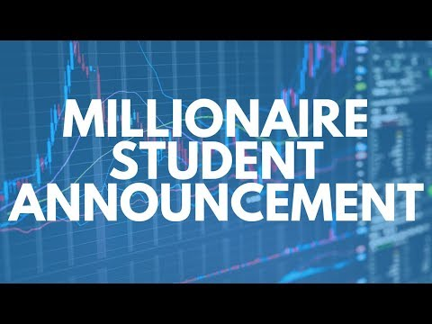 Announcing Yet Another New Millionaire Student