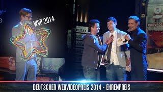 Ehrenpreis für DieAussenseiter - Deutscher Webvideopreis 2014