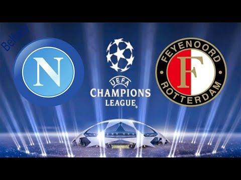 Feyenoord vs Napoli 2-1 all goals & highlights HD 6/12/2017