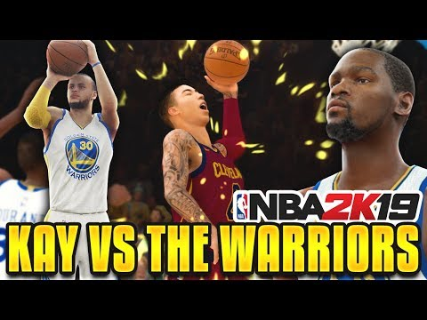 OUR HARDEST GAME.. KAY VS CURRY, KEVIN DURANT, & THE GOLDEN STATE WARRIORS! NBA 2K19 MyCareer Ep.12
