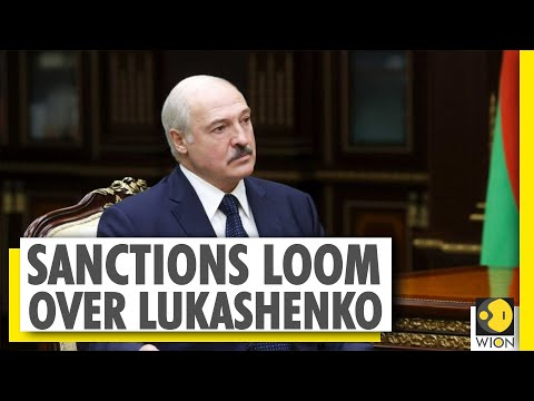Belarus faces imminent sanctions as pressure mounts on President Lukashenko