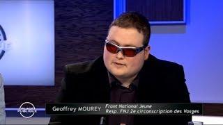 Geoffrey Mourey (FNJ) en débat sur Vosges Télévision - 18/05/2018