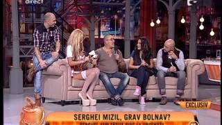 """Serghei Mizil: """"M-a bufnit sangele pe nas din cauza alcoolului"""""""
