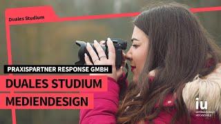 Duales Studium Mediendesign an der IUBH | Praxispartner RESPONSE GmbH