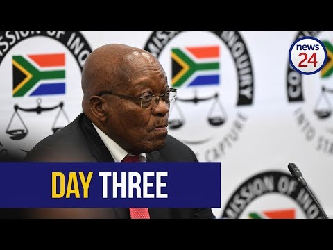 WATCH LIVE: Zuma at Zondo - testimony enters third day