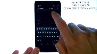 Motorola Droid Razr M - كيف يمكنني إنشاء أو إضافة جهة اتصال جديدة
