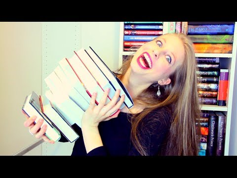 CHRISTINE'S FIRST BOOKHAUL