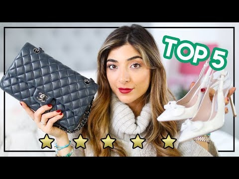 Top 5 Luxury Pieces to Start Your Designer Collection| Amelia Liana