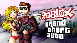ROBBING THE STRIP JOINT   ROBLOX Gameplay