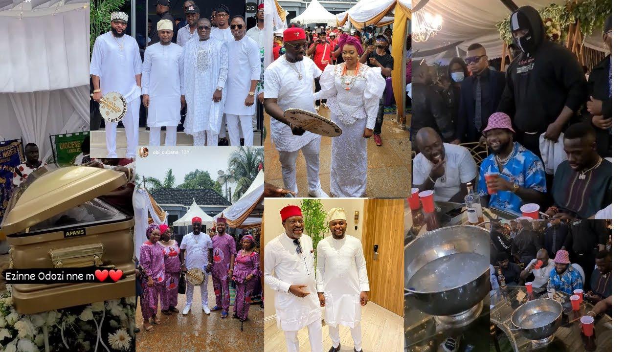 Davido, Phyno & Nigeria Billionaires At Obi Cubana Mother Burial at Oba  Anambra - YouTube