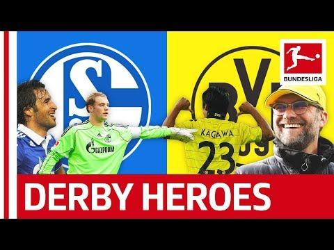 Schalke 04 Vs. Borussia Dortmund - Greatest Revierderby Heroes All Time