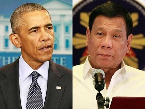 """Son Of A B*tch!"": President Of The Philippines Lectures Obama"