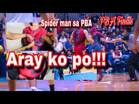 SPIDERMAN NABERNA SA PBA FINALS GAME 5