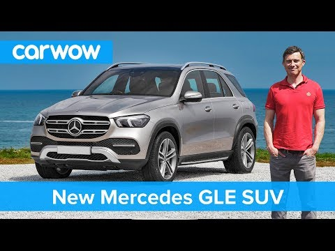 New Mercedes GLE 2019 - see how this SUV copies BMW, VW and even Apple!