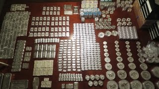 3,200+ Ounce Full Stack Silver Bar & Coin Video