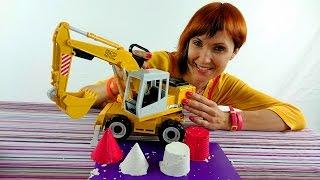 Видео про Большие Машины Брудер, Работа Экскаватора на стройке, Игрушки для детей(Любимые игрушки у мальчиков, чаще всего, это простые машинки или большие рабочие машины, которыми можно..., 2014-11-12T11:09:37.000Z)