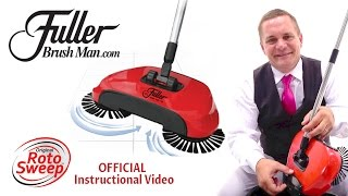 Roto Sweep™ by Fuller Brush Co® Official Instructional Video