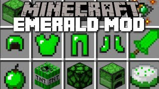 - Minecraft EMERALD MOD FIGHT THE EMERALD GOLEM AND SURVIVE Minecraft