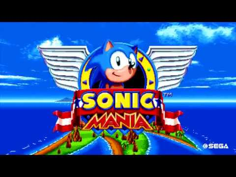 Sonic Mania - Dr. Robotniks' Mean Bean Machine Boss Battle (Direct-Feed PS4 Footage)
