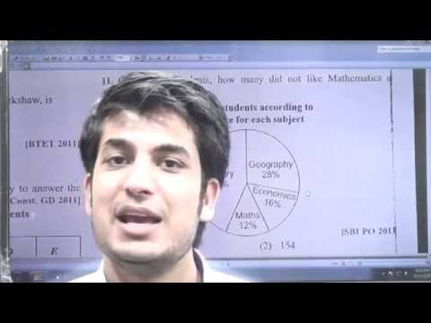 Data Interpretation Lecture By Anuj Garg Sir- IAS , Bank PO-2015