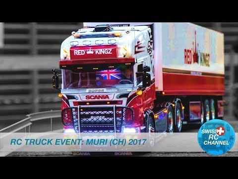 BEST OF RC EVENT - MURI, SWITZERLAND 2017 - RC TRUCKS, EXCAVATOR,FIRE,WHEEL LOADER