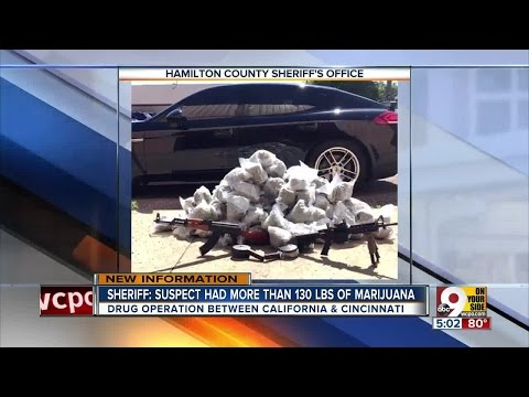 Bust disrupted California-to-Cincinnati drug network, Hamilton County Sheriff's Office says