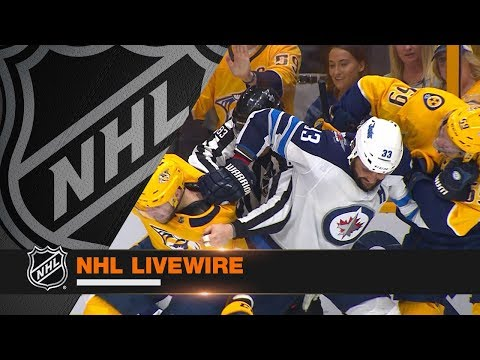 NHL LiveWire: Jets, Predators micd up for sensational Game 2 battle