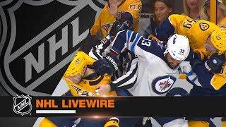 NHL LiveWire: Jets, Predators mic'd up for sensational Game 2 battle