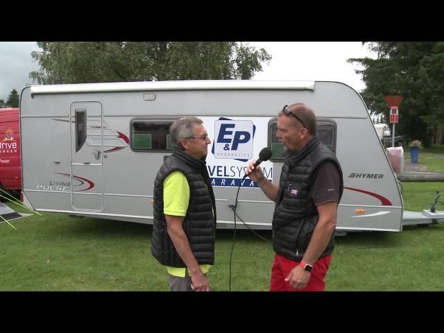 Hydrauliske Støtteben til Campingvognen