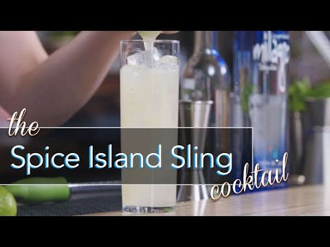 Spice Island Sling Cocktail - The Proper Pour with Charlotte Voisey - S5E1