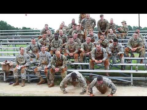 DFN: USARC Best Warrior Obstacle Course, FORT BRAGG, NC, UNITED STATES, 06.12.2018