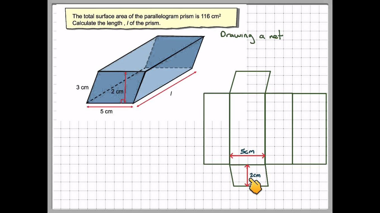Finding A Length Of A Parallelogram Prism