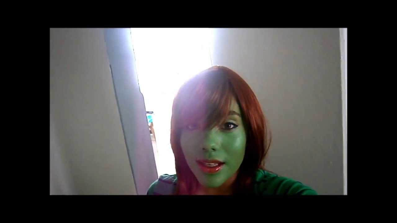 Miss Martian Makeup Preview
