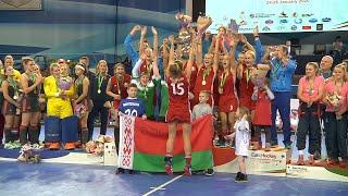 Лучшие голы чемпионата Европы  по индорхоккею. Best goals Euro Hokkey Indoor Championship, Woman.