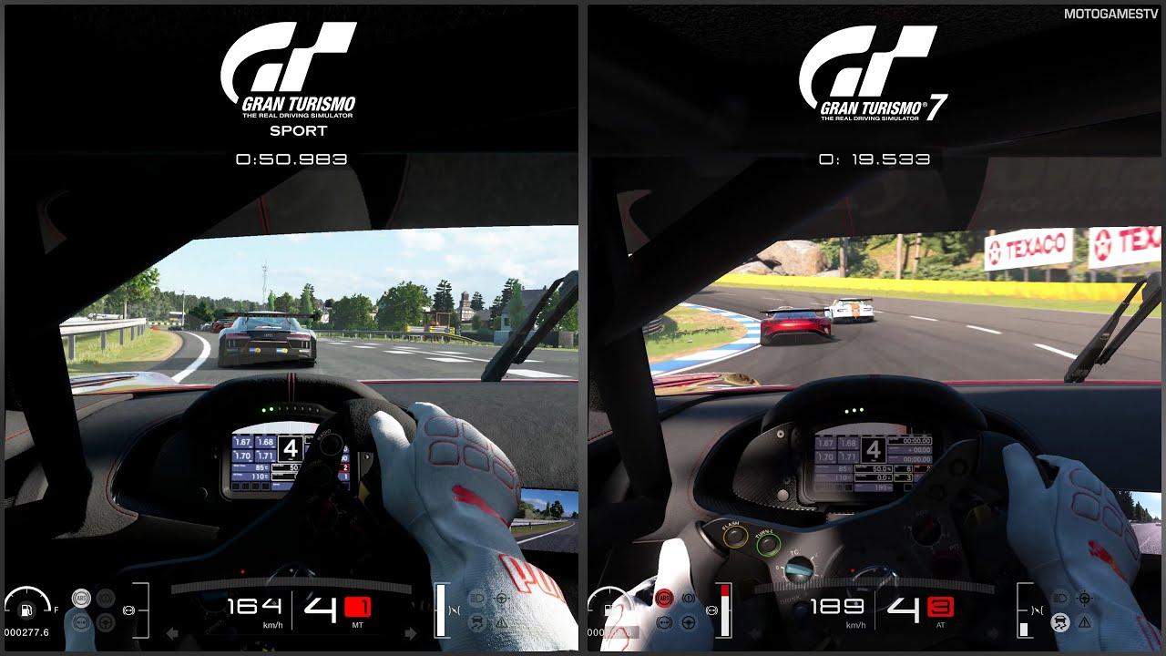 Gran Turismo Sport vs Gran Turismo 7 - Early Comparison thumbnail