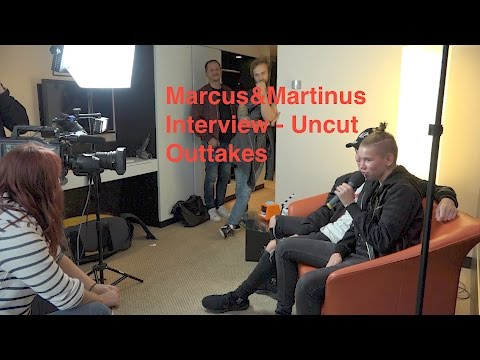 Marcus & Martinus - Uncut Interview & Outtakes | Bubble Gum TV