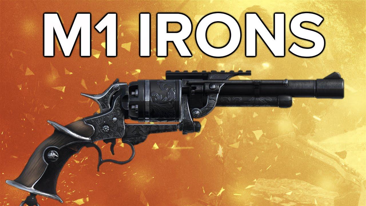 Depth m1 irons review free dlc revolver pistol amp variants youtube