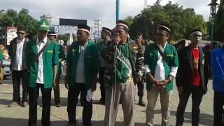 Orasi Penolakan HTI oleh Ansor Banser Pemalang