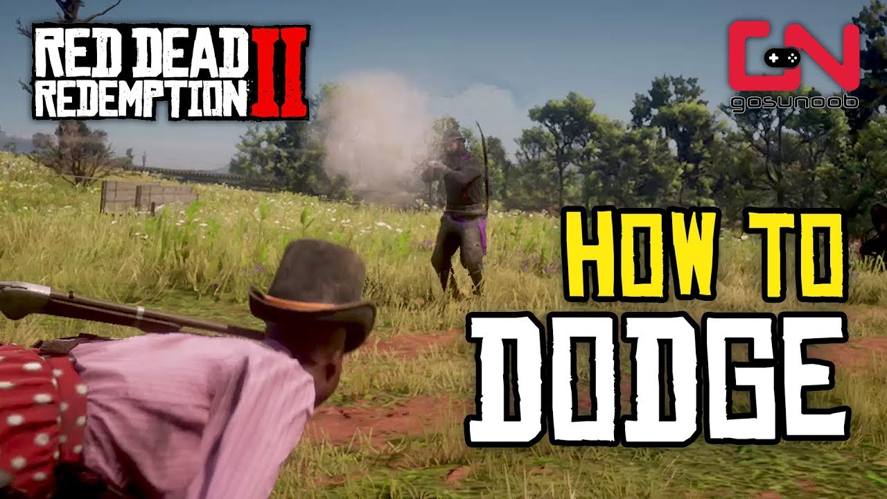 Red Dead Redemption 2 Online How To Dodge Youtube