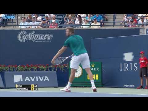 2016 Rogers Cup: Thursday Highlights featuring Djokovic, Raonic & Nishikori