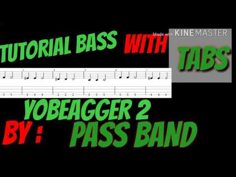 TUTORIAL BASS WITH TABS, YOB EAGGER 2 BYPASS BAND