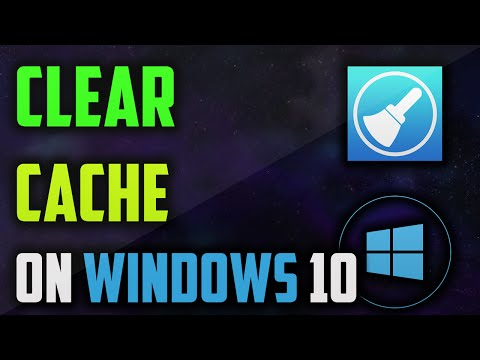 How to clear cache windows 10
