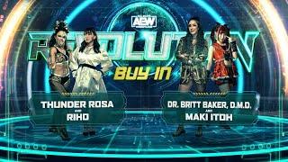 The Buy In - AEW Revolution
