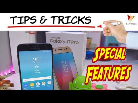 Samsung Galaxy J7 Pro Tips and Tricks | Special Features | Data Dock