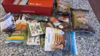 December 2014 Love With Food Deluxe Box Opening & Overview Thumbnail