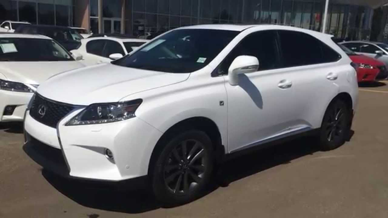 Brand New 2015 Lexus RX 350 AWD F Sport Package Review - Lexus of ...