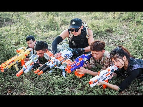 LTT Nerf War : Special task SEAL X attack Fight criminal group with nerf guns MEGA sniper