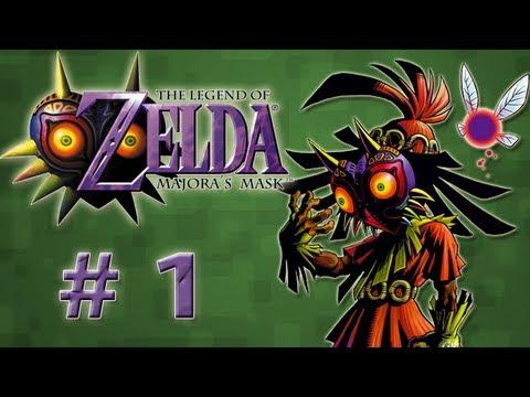 Guia Zelda - Majora Mask - # 1 Link Deku y Ciudad(Guia al 100% en la Caja de Comentarios)